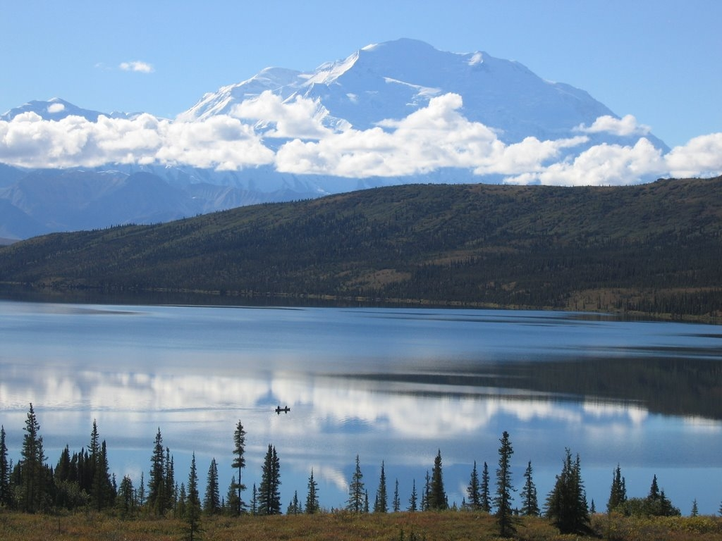 Be warned, after canoeing Wonder Lake you may never think any other canoe trip is worth taking. (Denali National Park Website)