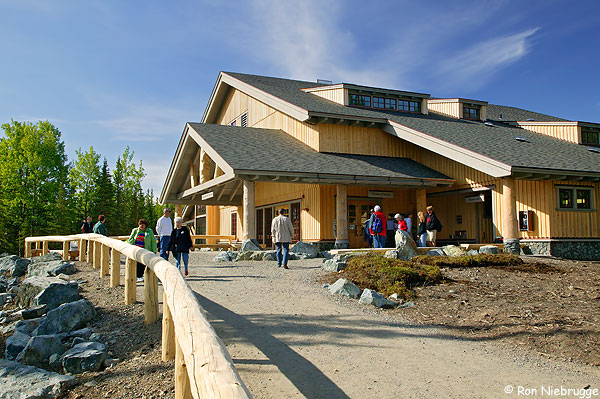 Just a 2 hour drive from Fairbanks, Denali Visitor Center is the gateway to Denali National Park. (Source: Ron Niebrugge)