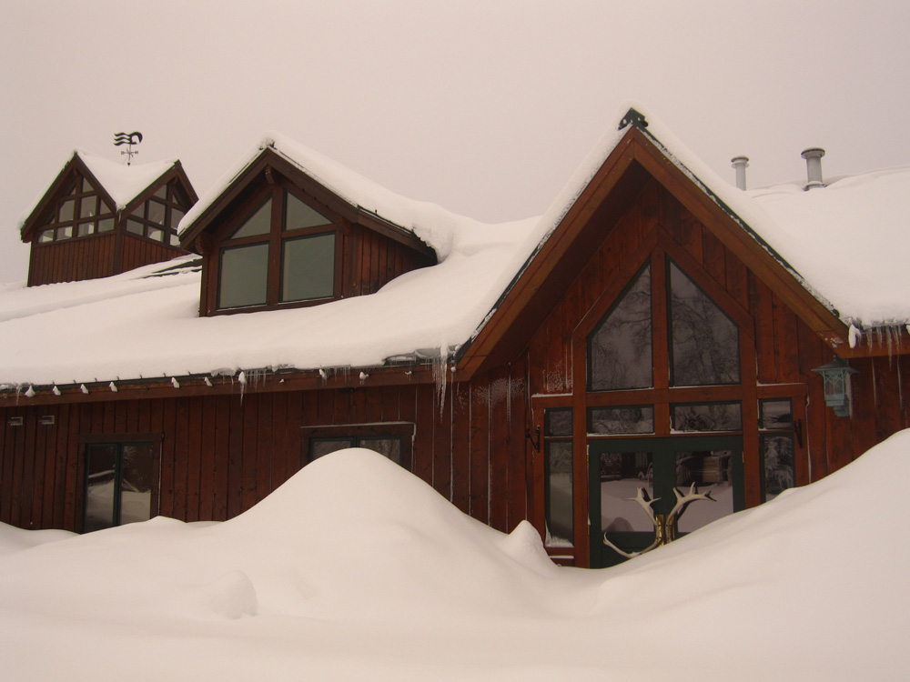 Princess Mt. McKinley Lodge with Snow