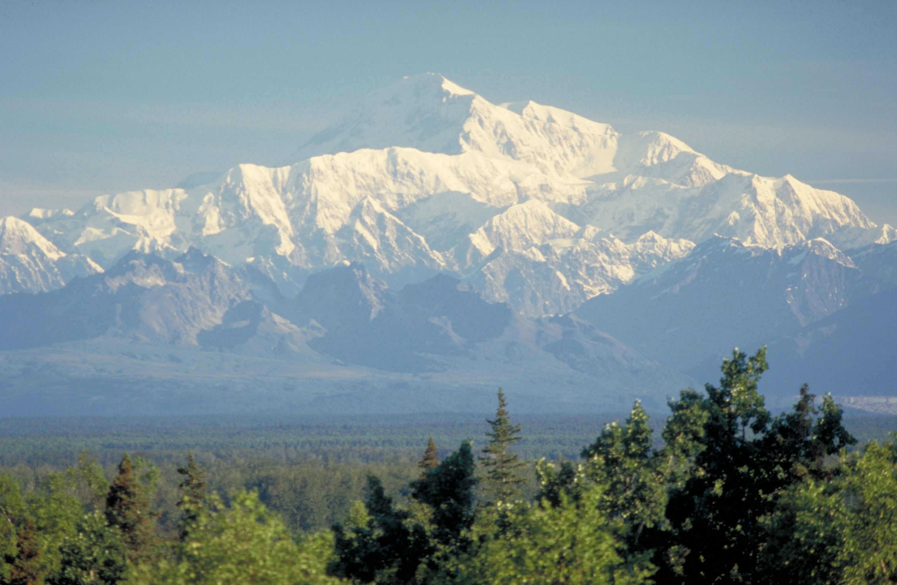 Mt. McKinely Denali National Park Alaska