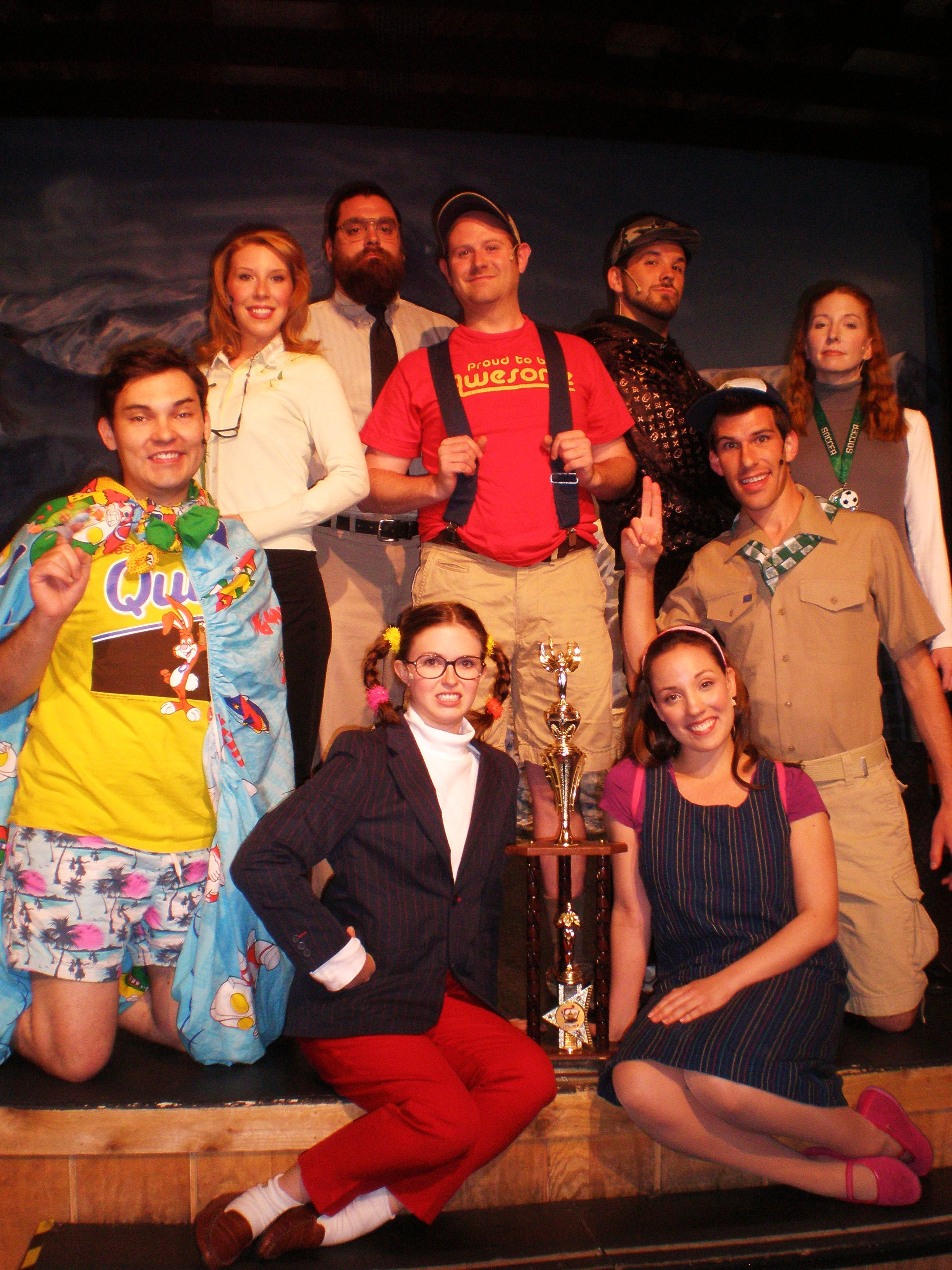 Putnam Country Spelling Bee cast photo