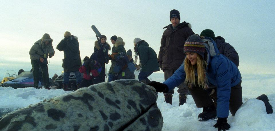 Actress Drew Barrymore in a scene from 'Big Miracle.'