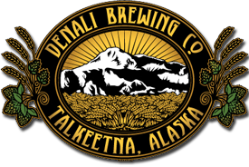 logo for Denali Brewing Co. Talkeetna, Alaska