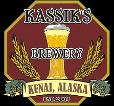 Logo for Kassi's Brewery Kenai, Alaska Est. 2004