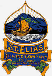 logo for St. Elias Brewing Company EST 2007 Soldotna, Alaska
