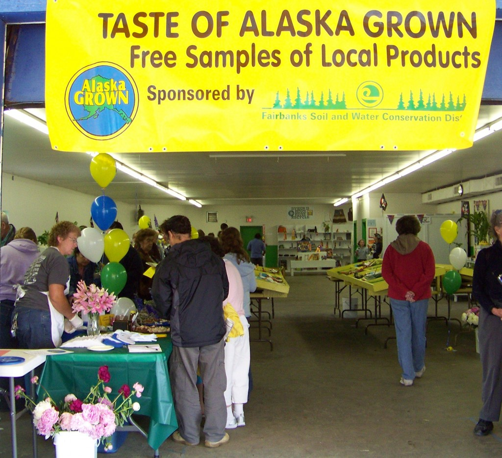 Produce at the Tanana Valley State Fair