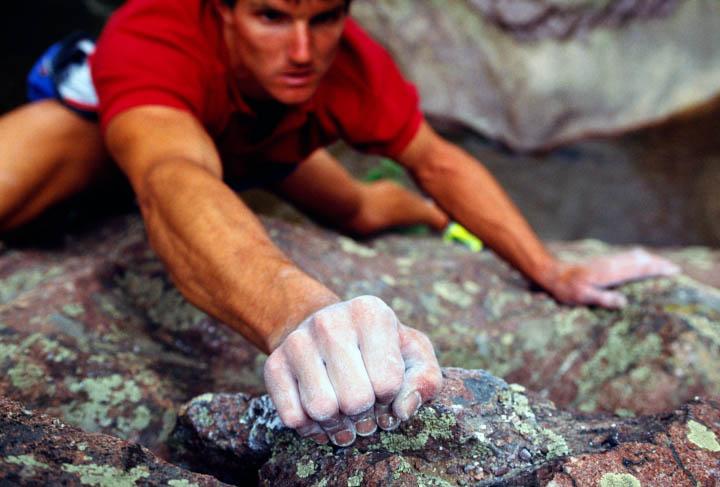 rock climber hand grips