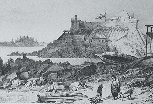 Baranof Castle ghosts in Sitka Alaska - Princess Lodges