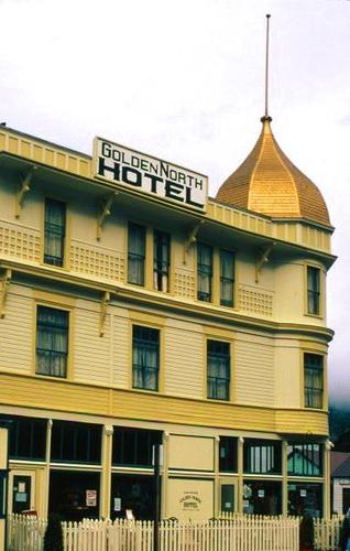 Haunted Golden North Hotel in Skagway Alaska - Princess Lodges