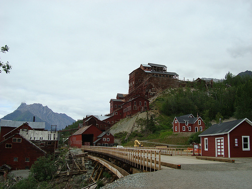 Visit the Alaska Kennecott Copper Mine ghosts if you dare - Princess Lodges