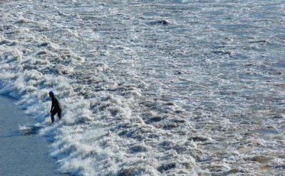 Surfing on Turnagain Arm