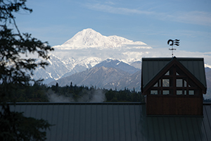 Mt. McKinley from a distance - Princess Lodges