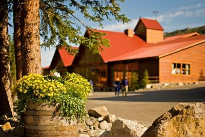 Denali Princess Wilderness Lodge located near the entrance to Denali National Park.