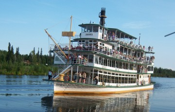Riverboat Discovery Cruise & Gold Dredge 8 Combo