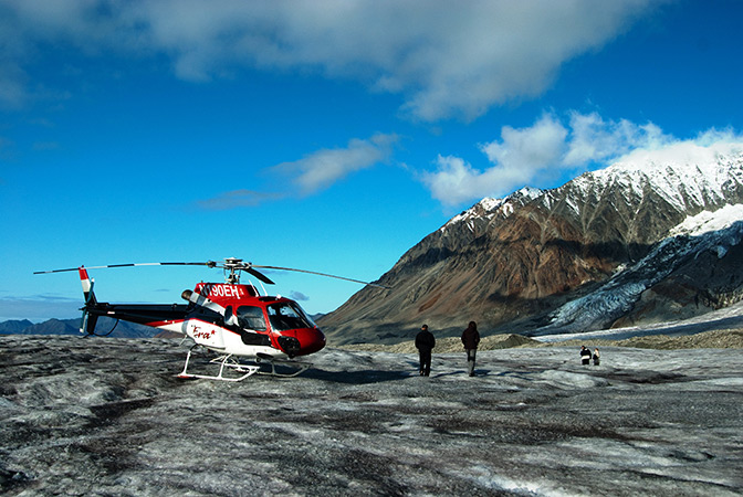 Helicopter Tour Amp Yanert Glacier Landing  Princess Alaska Tours