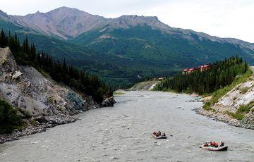 Nenana River Raft Scenic Wilderness Run