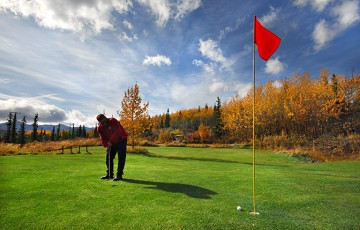 Tundra Mountain Golfing