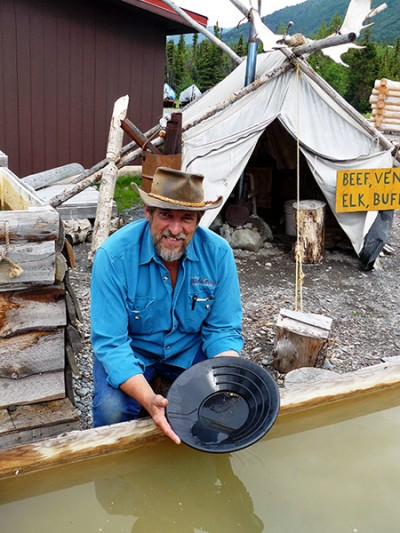 Gold Panning with Prospector John