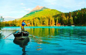 Kenai Upper River Fishing