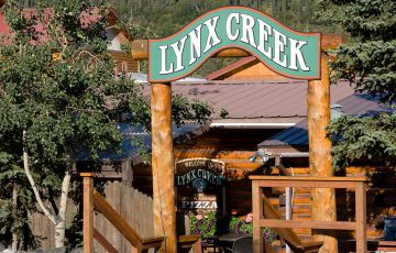 Lynch Creek Pub sign at Denali Princess Wilderness Lodge