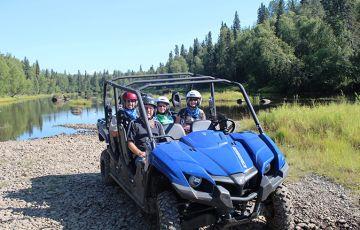 Mt. McKinley Black Bear UTV Wilderness Adventure