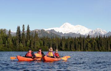 Byers Lake Paddle Trip