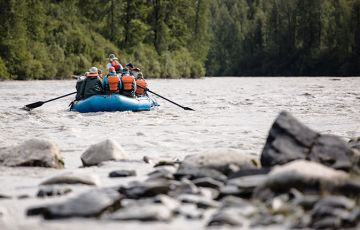 Chulitna River Rafting