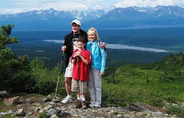 Denali Wilderness Hike