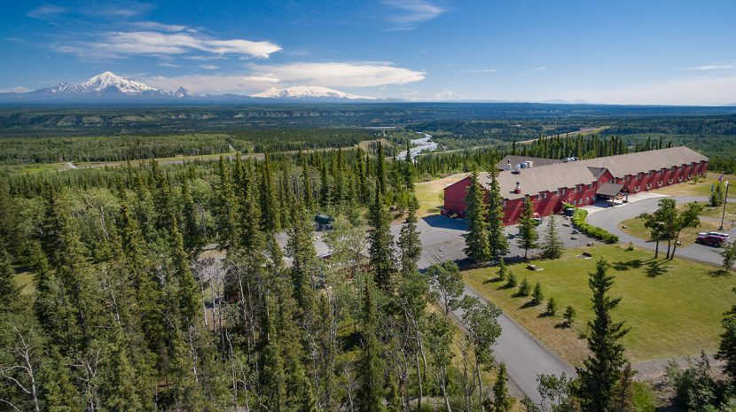 Copper River Princess Wilderness Lodge, Copper Center, Alaska