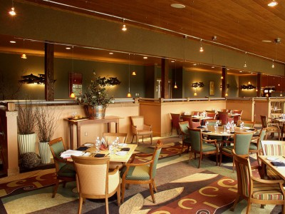 Two RIvers Restaurant at Copper River Princess Wilderness Lodge
