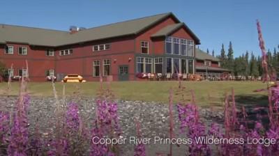 Exterior of Copper River Princess Wilderness Lodge