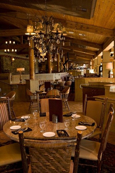 King Salmon Restaurant at Denali Princess Wilderness Lodge