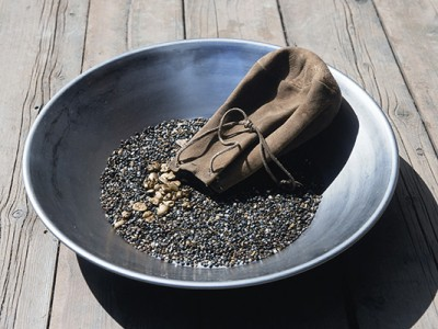 Gold Panning in Alaska with Prospector John