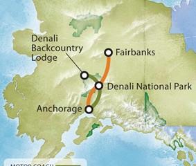 Alaska Tours Tour 3BR Fairbanks Fairbanks Denali Backcountry