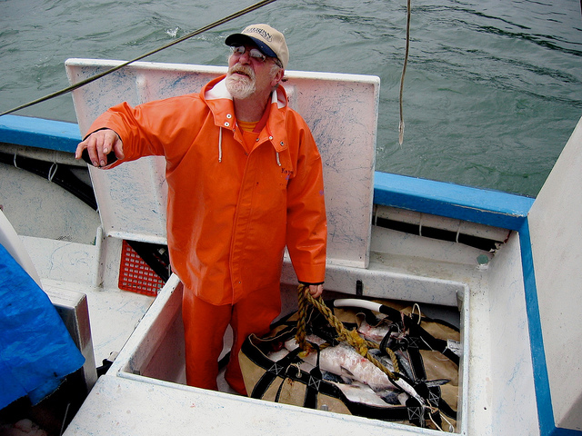 RJ Kopchak, commercial fisherman, Cordova, Alaska.
