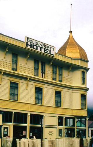 Haunted Golden North Hotel in Skagway Alaska