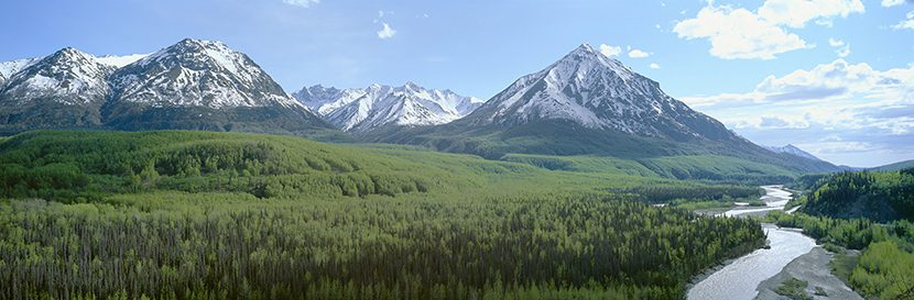 The MatSu Valley in Alaska
