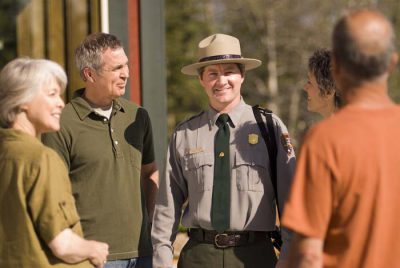 Park Ranger at Copper River Princess Lodge