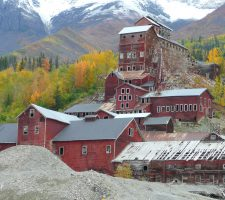 Visit the Kennecott Mines National Historic Landmark to see the best remaining example of historic copper mining.