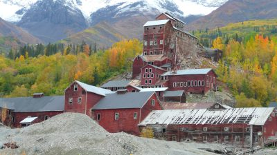 Historic Kennecott Copper Mine