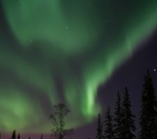 Fairbanks is a prime viewing spot for the aurora borealis, or Northern Lights.