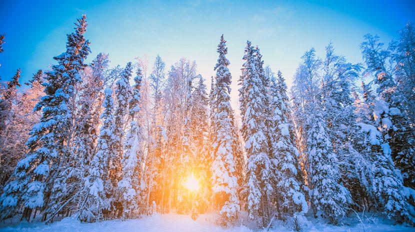 Alaska's winter solstice explained