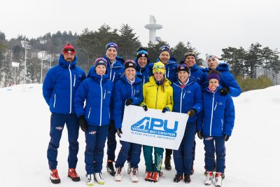 Olympic athletes from Alaska Pacific University