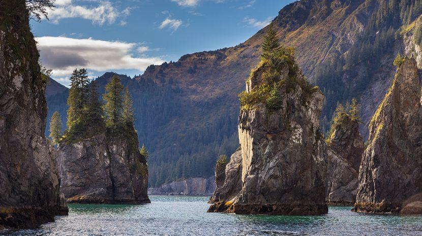 Resurrection Bay in Alaska