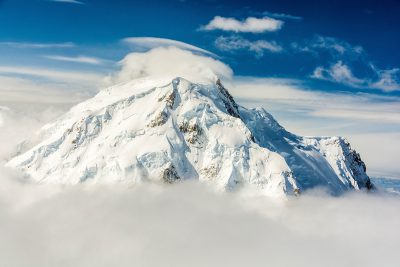 Mt. Foraker above the clouds